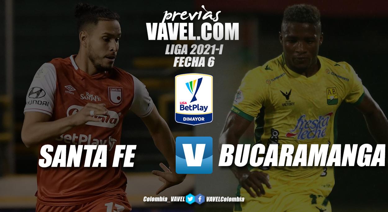 Previa Independiente Santa Fe vs. Atlético Bucaramanga: duelo de 'leones' y 'leopardos'