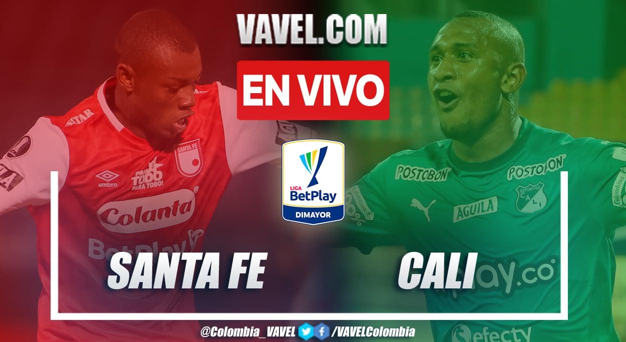 Resumen Santa Fe vs. Deportivo Cali (1-2) por Liga BetPlay 2021-II