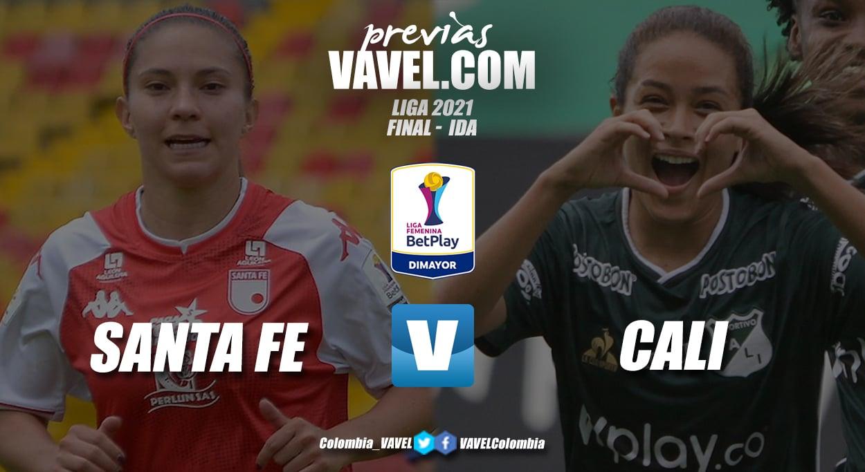 Previa Independiente Santa Fe vs Deportivo Cali: primer round de la final del fútbol femenino