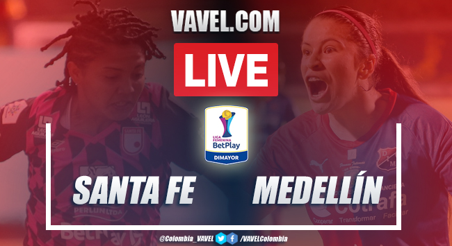 Resumen Santa Fe vs Medellín (1-1) por la semifinal de vuelta de la Liga BetPlay Femenina