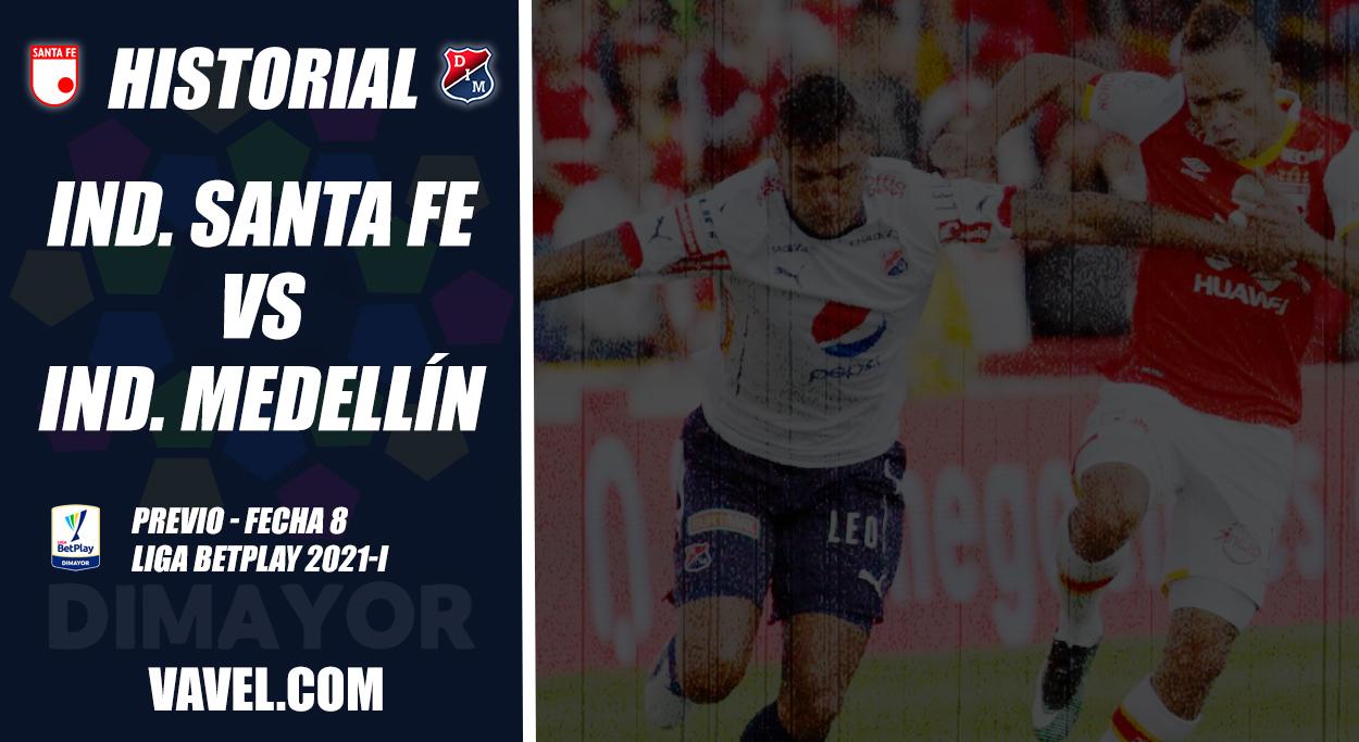 Historial Santa Fe vs Independiente Medellín: el 'cardenal' domina el duelo de rojos