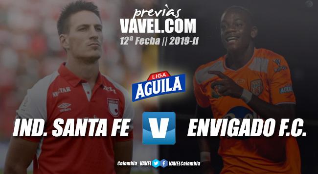 Previa Independiente Santa Fe vs. Envigado: por un triunfo para seguir en carrera