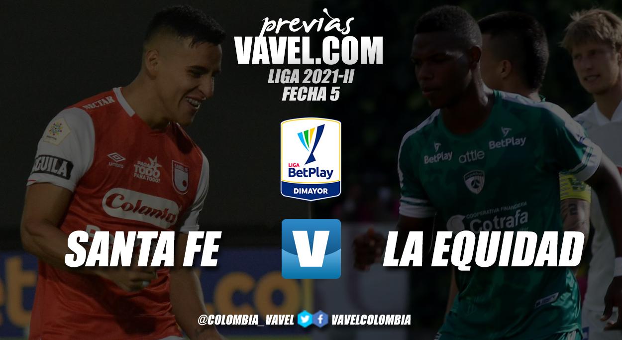 Previa Independiente Santa Fe vs La Equidad: un partido para salir del fondo de la tabla