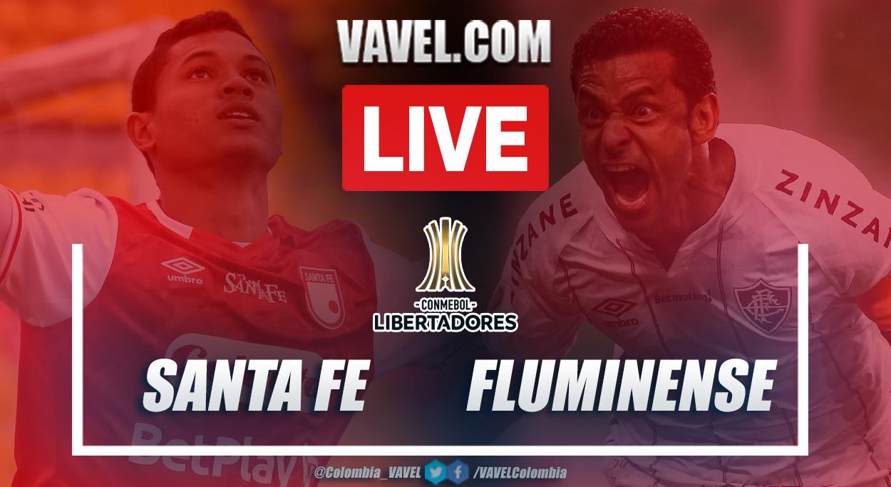 Resumen Santa Fe vs Fluminense (1-2) en la fecha 2 del Grupo D de la Copa Libertadores 2021