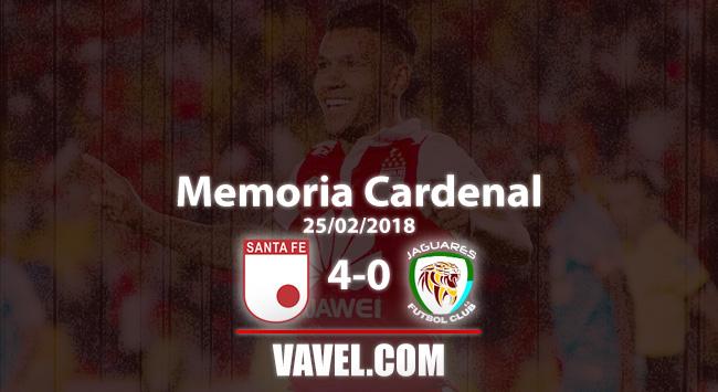 Memoria Cardenal, Santa Fe vs Jaguares: el día en que Wilson Morelo rugió con más fuerza