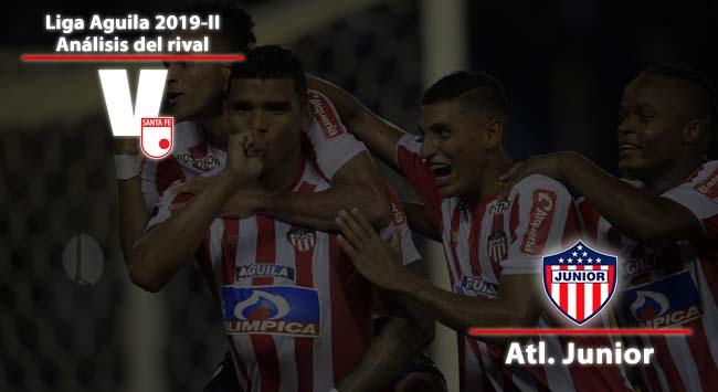 Independiente Santa Fe, análisis del rival: Junior de Barranquilla