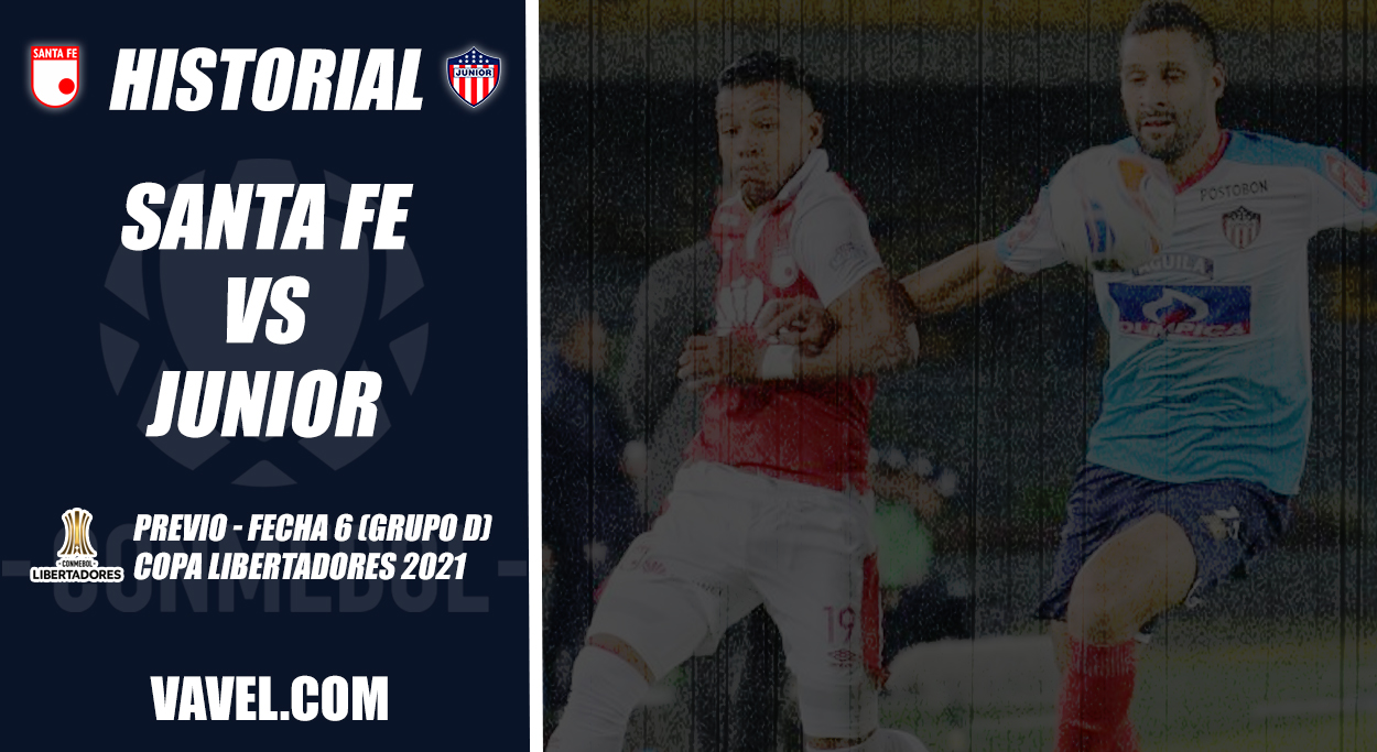 Historial Junior vs. Santa Fe: a romper la igualdad por Libertadores