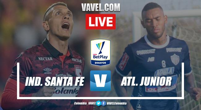 Independiente Santa Fe vs. Junior Barranquilla EN VIVO y directo online por Liga BetPlay (0-0) | 08/02/2020 - VAVEL Colombia