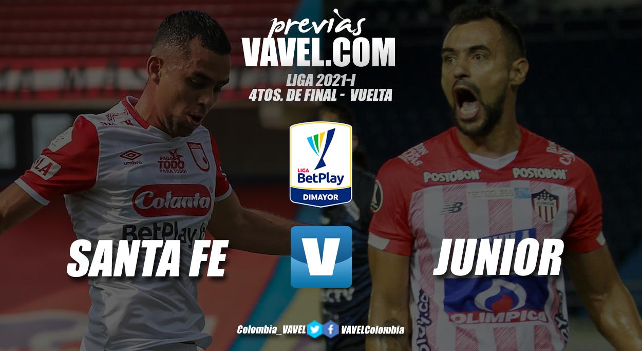 Previa Independiente Santa Fe vs Junior de Barranquilla: el partido decisivo por la clasificación a semifinales