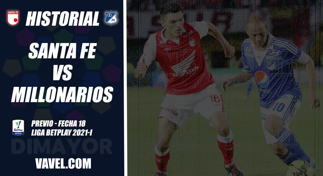 Historial Independiente Santa Fe vs Millonarios: monarquía 'embajadora'