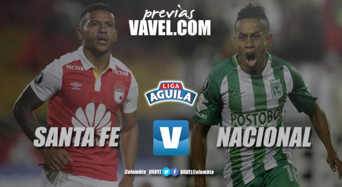 Previa Santa Fe vs Nacional: La ratificación de un nuevo equipo albirrojo contra la expectativa del equipo verde