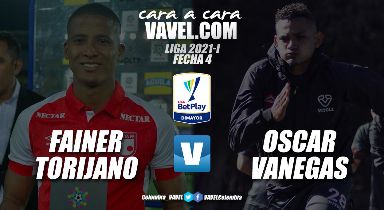 Cara a cara: Fainer Torijano vs Oscar Vanegas