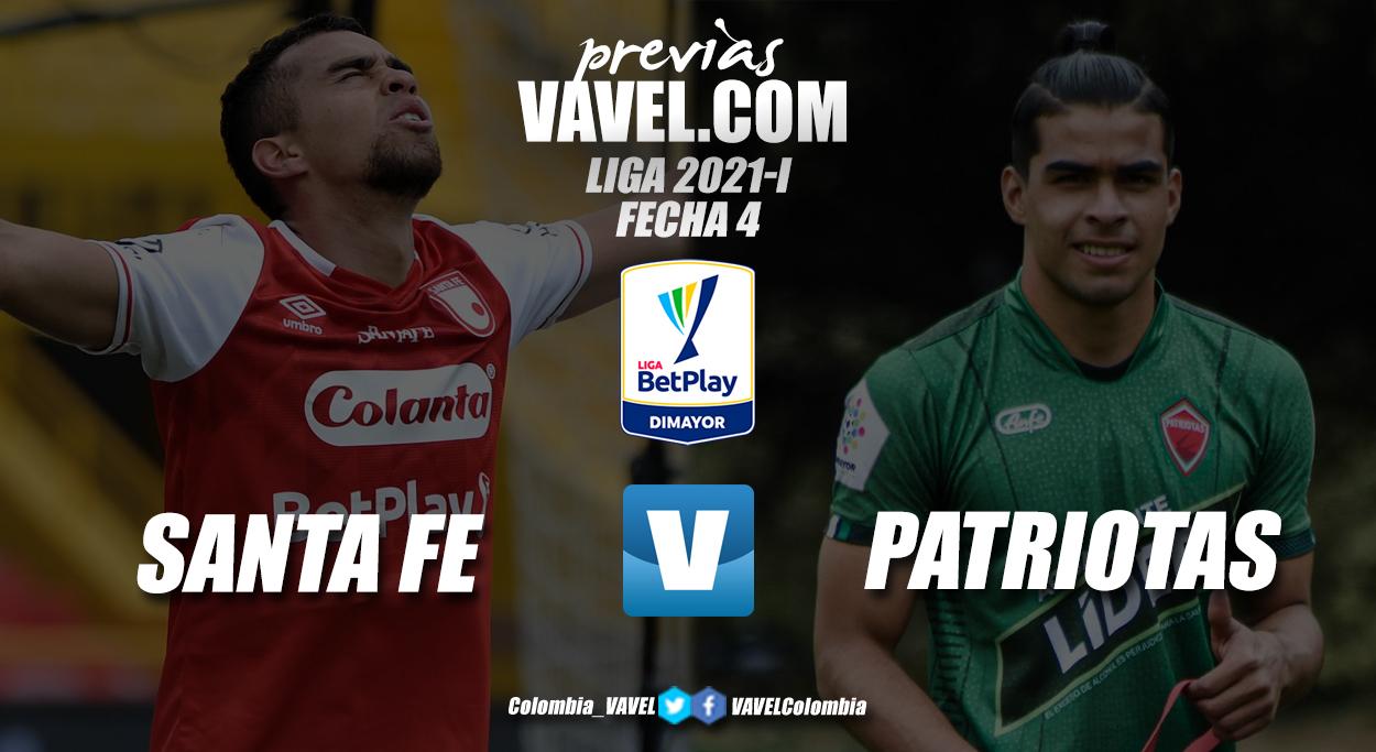 Previa Independiente Santa Fe vs Patriotas Boyacá: el 'león' regresa a casa