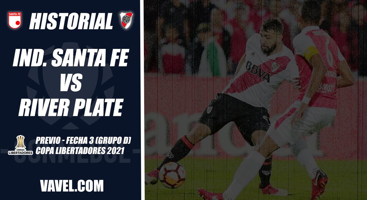 Historial Santa Fe vs River Plate: sin triunfos para el 'león'