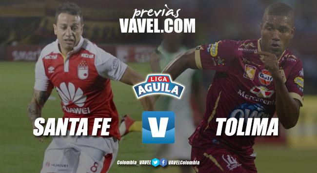 Previa Independiente Santa Fe vs Deportes Tolima: la misión, asegurarse en los primeros lugares