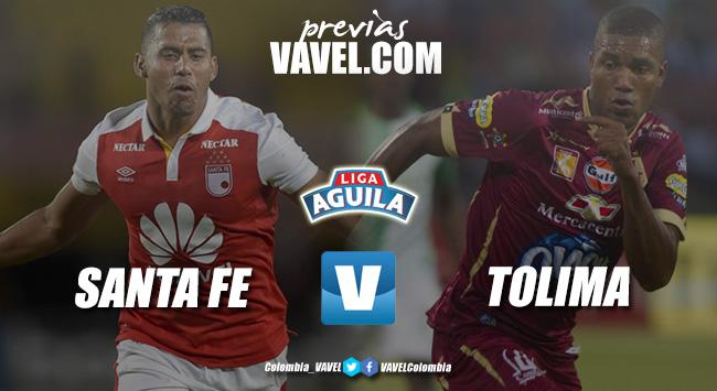 Previa Independiente Santa Fe vs Deportes Tolima: necesidad de ganar