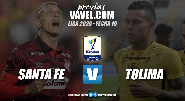 Previa Santa Fe vs. Tolima: duelo de líderes en 'El Campín'