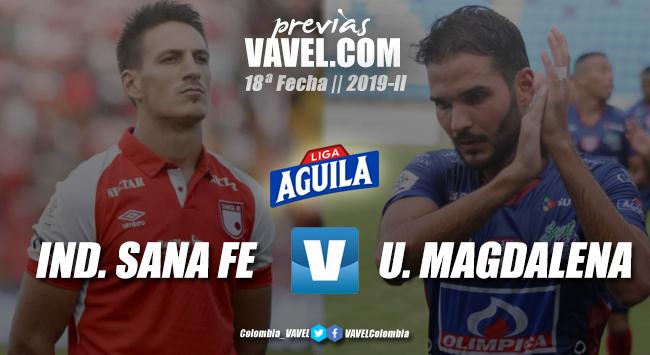Previa Independiente Santa Fe vs. Unión Magdalena: dos realidades distintas y el triunfo como objetivo