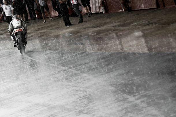 MotoGP, test al Montmeló condizionati dalla pioggia