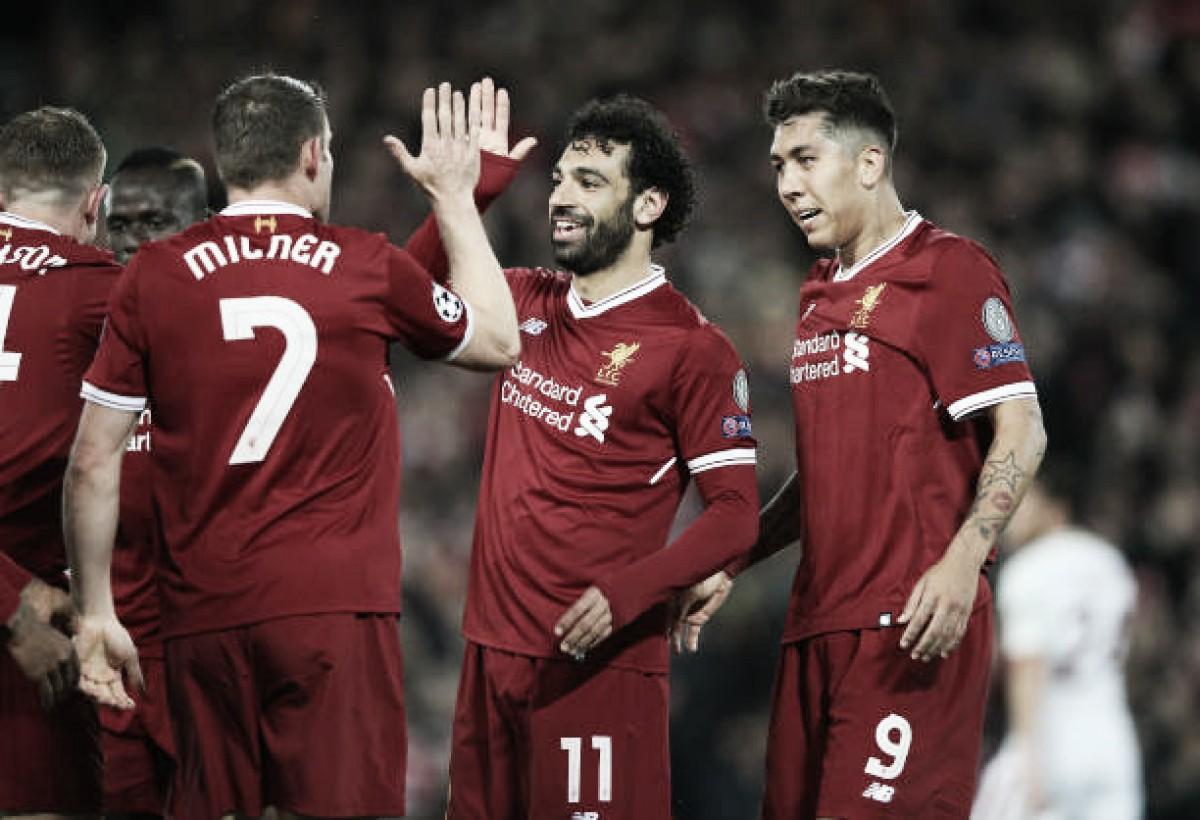 Liverpool goleia Roma, mas vaga na final da Champions segue em aberto