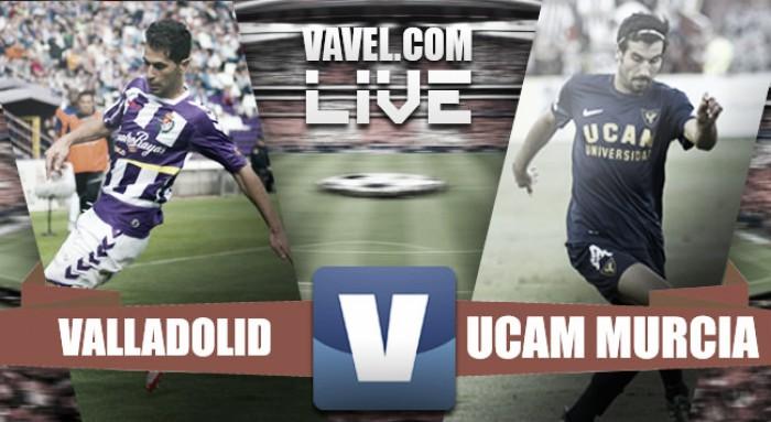 Resultado Real Valladolid vs UCAM Murcia online en vivo en Segunda División 2016 (0-1)