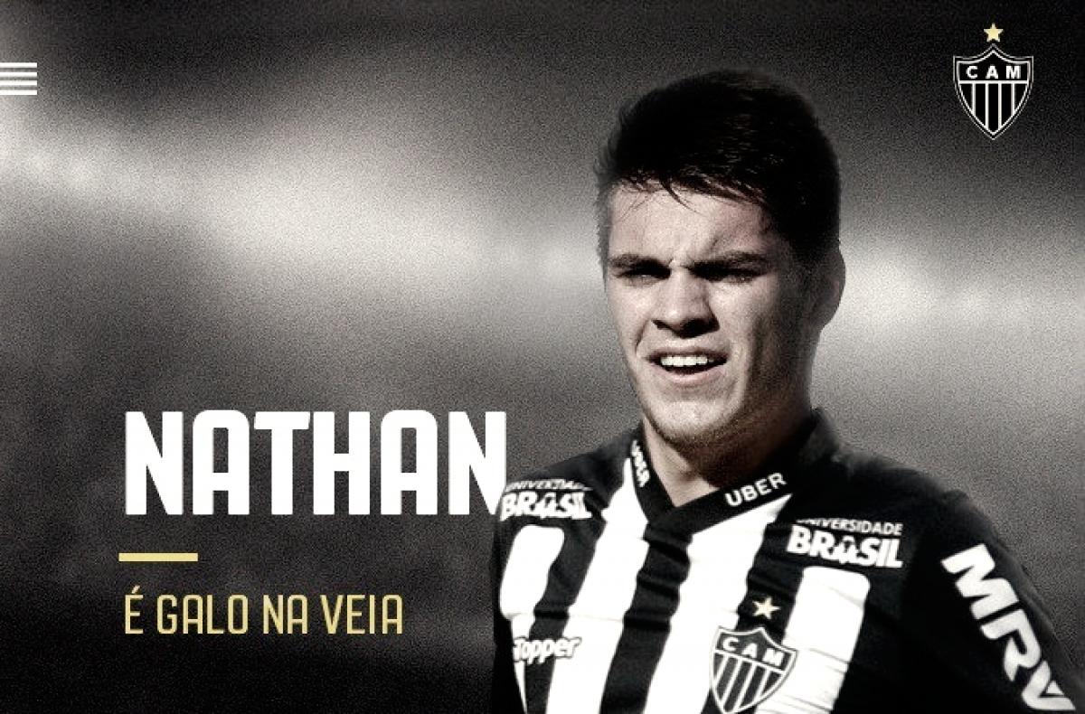Atlético-MG anuncia contração do meia Nathan por empréstimo junto ao Chelsea