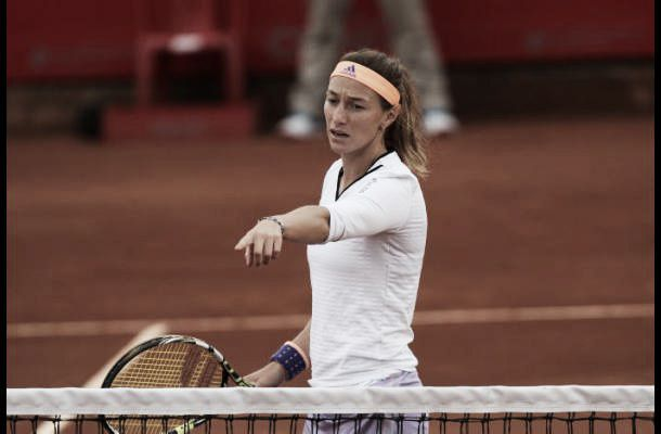 Sharapova eliminó a Mariana Duque en Madrid