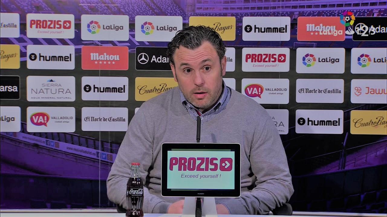 """Sergio González: """"El resultado no refleja lo que ha pasado en el campo"""""""