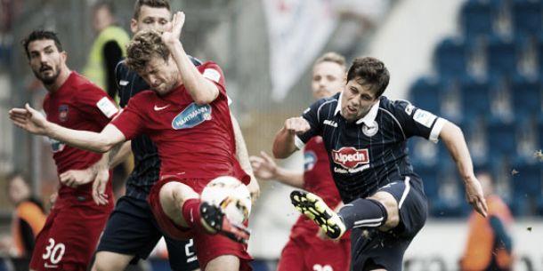 Arminia Bielefeld 0-0 1. FC Heidenheim: Stalemate at the SchücoArena