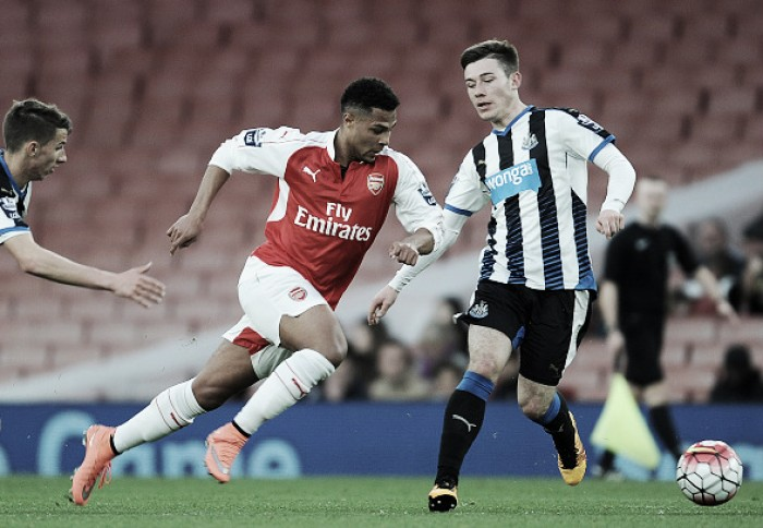 U21's: Arsenal 3-1 Newcastle - Gnabry excellent as Rosicky and Wilshere return