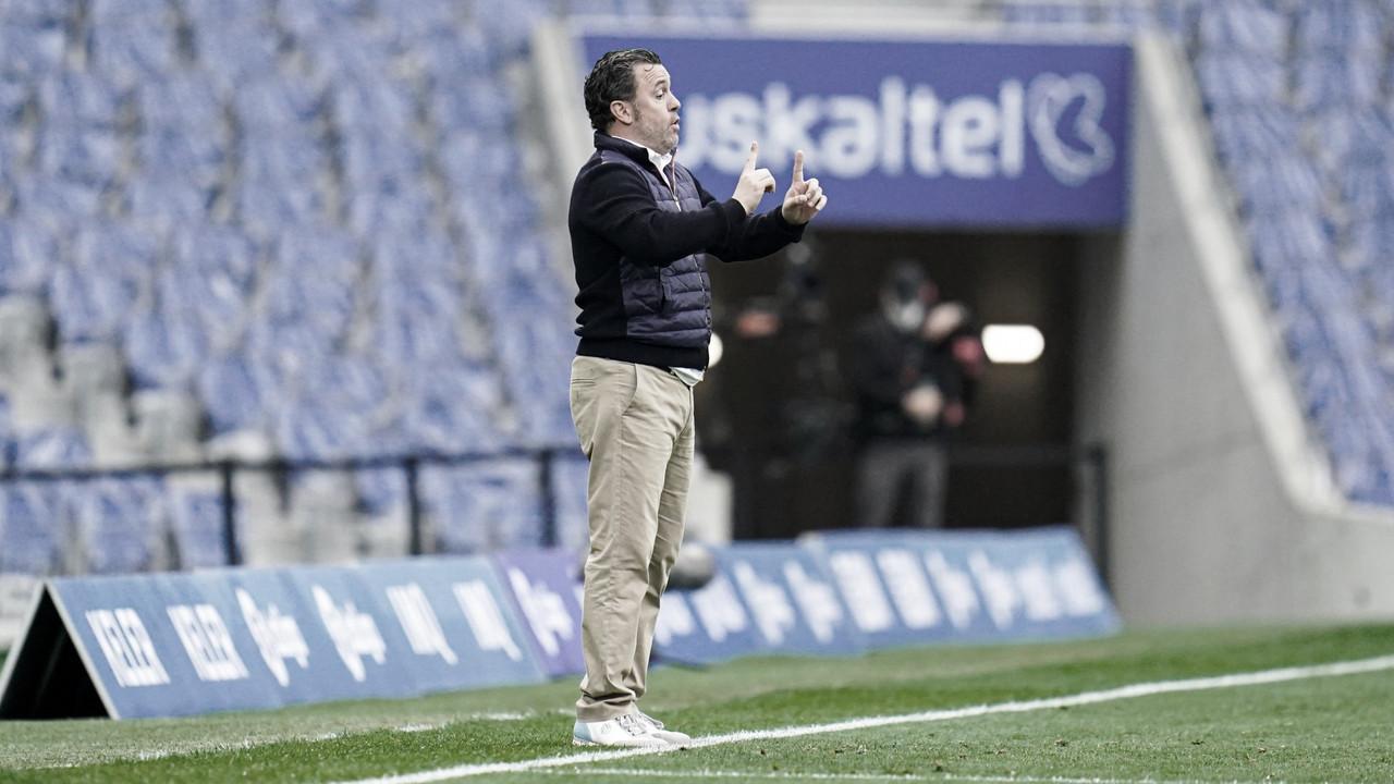 """Sergio González: """"No hemos estado a la altura del escudo"""""""