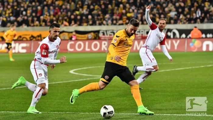 Dynamo Dresden 3-3 1. FC Kaiserslautern: Six-goal thriller sees spoils shared in Dresden