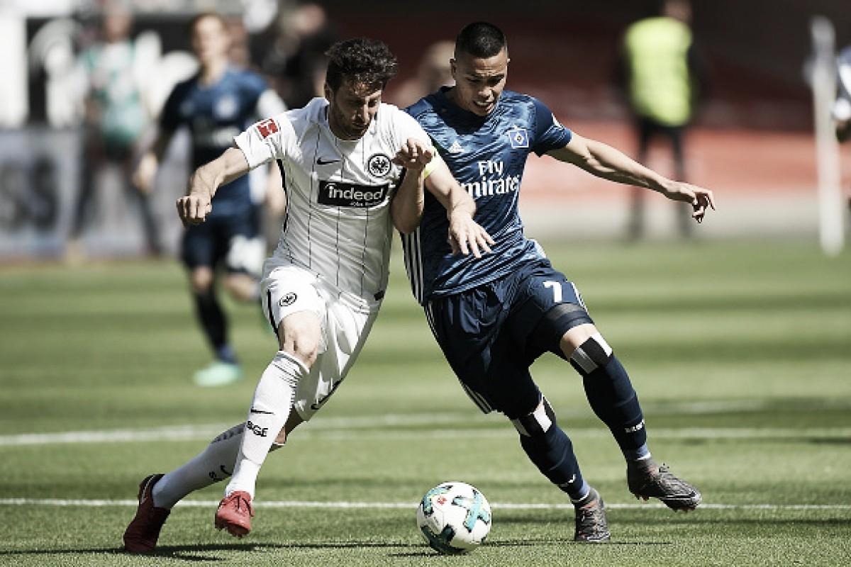 Hamburgo perde para Frankfurt fora de casa e se aproxima do inédito descenso