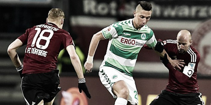 1. FC Nürnberg 2-1 Greuther Fürth: Füllkrug is hosts' Frankenderby hero with late winner