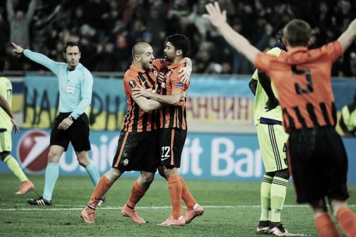 Shakhtar bate Anderlecht e sai em vantagem nas oitavas da Europa League
