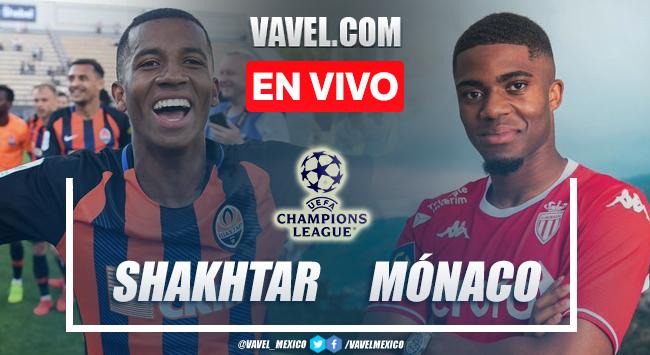 Goles y resumen del Shakhtar Donetsk 2-2 Mónaco en Champions League