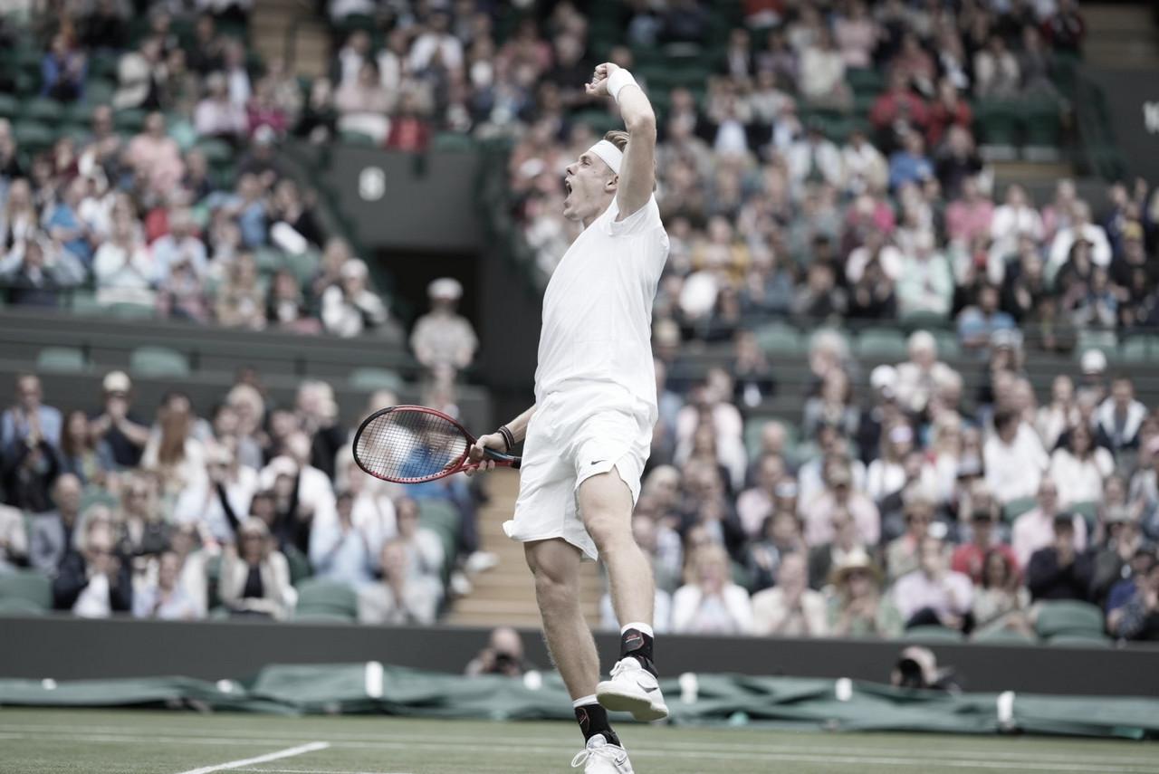 Shapovalov vira contra Khachanov e se garante nas semifinais em Wimbledon