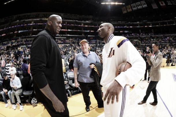 Shaq e Kobe, scoppia la pace