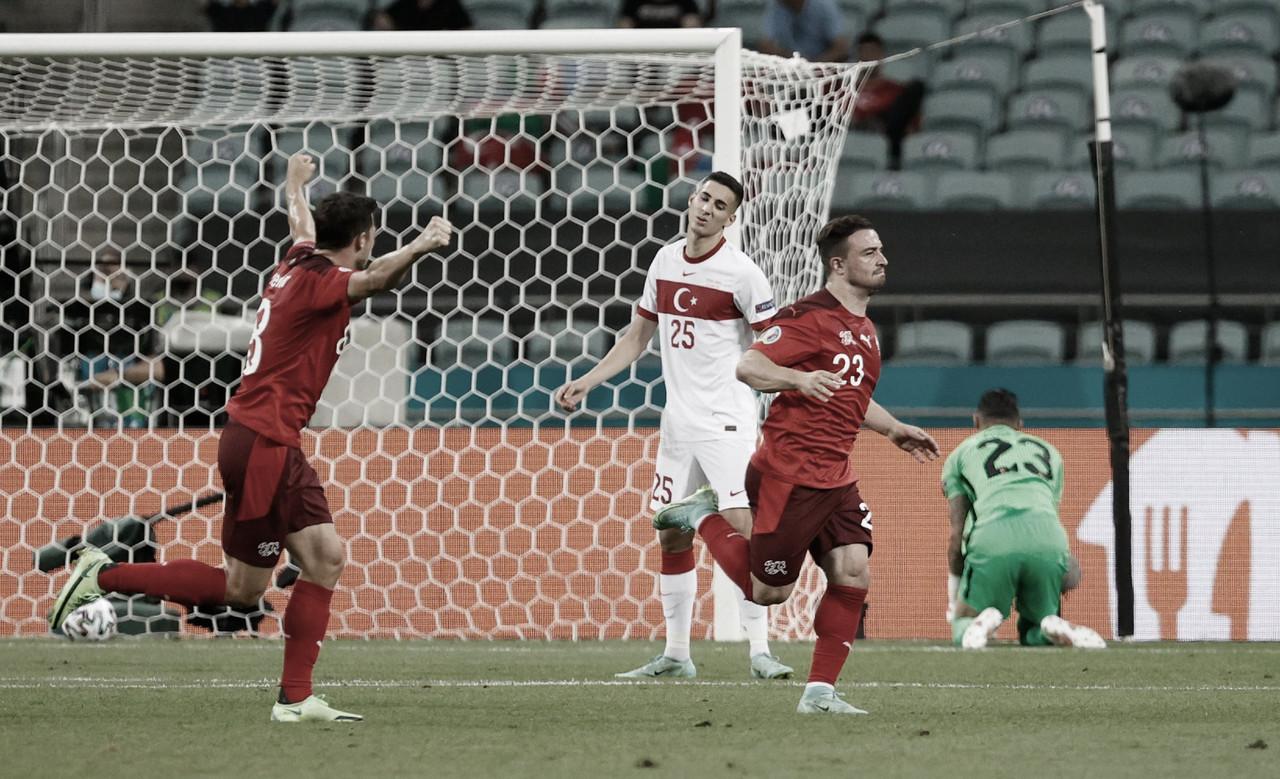 Com show de Shaqiri e Zuber, Suíça bate na Turquia e ainda sonha na Eurocopa