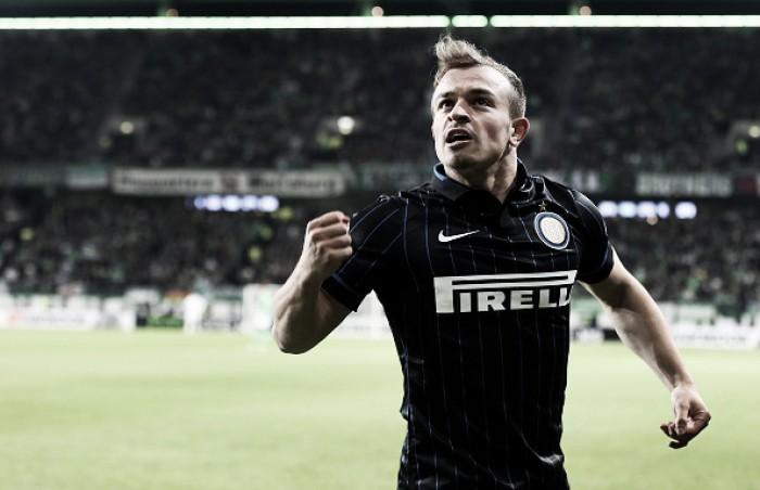 """Ex-jogador da Inter, suíço Shaqiri ataca estrutura interna do clube: """"É uma desgraça"""""""