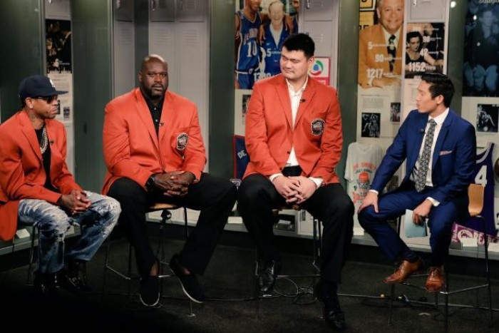 Shaq, Iverson, Yao: tre Hall of Famers in immagini