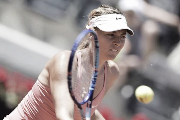 WTA Roma: eliminate Giorgi e Pennetta, avanzano S.Williams e Sharapova