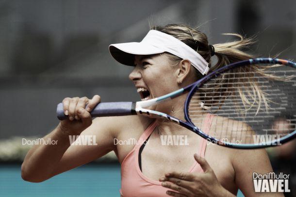 Sharapova prosigue con paso firme