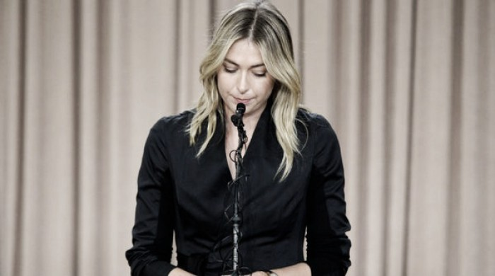 Maria Sharapova admits to 'a huge mistake' after failing a drug test at the Australian Open