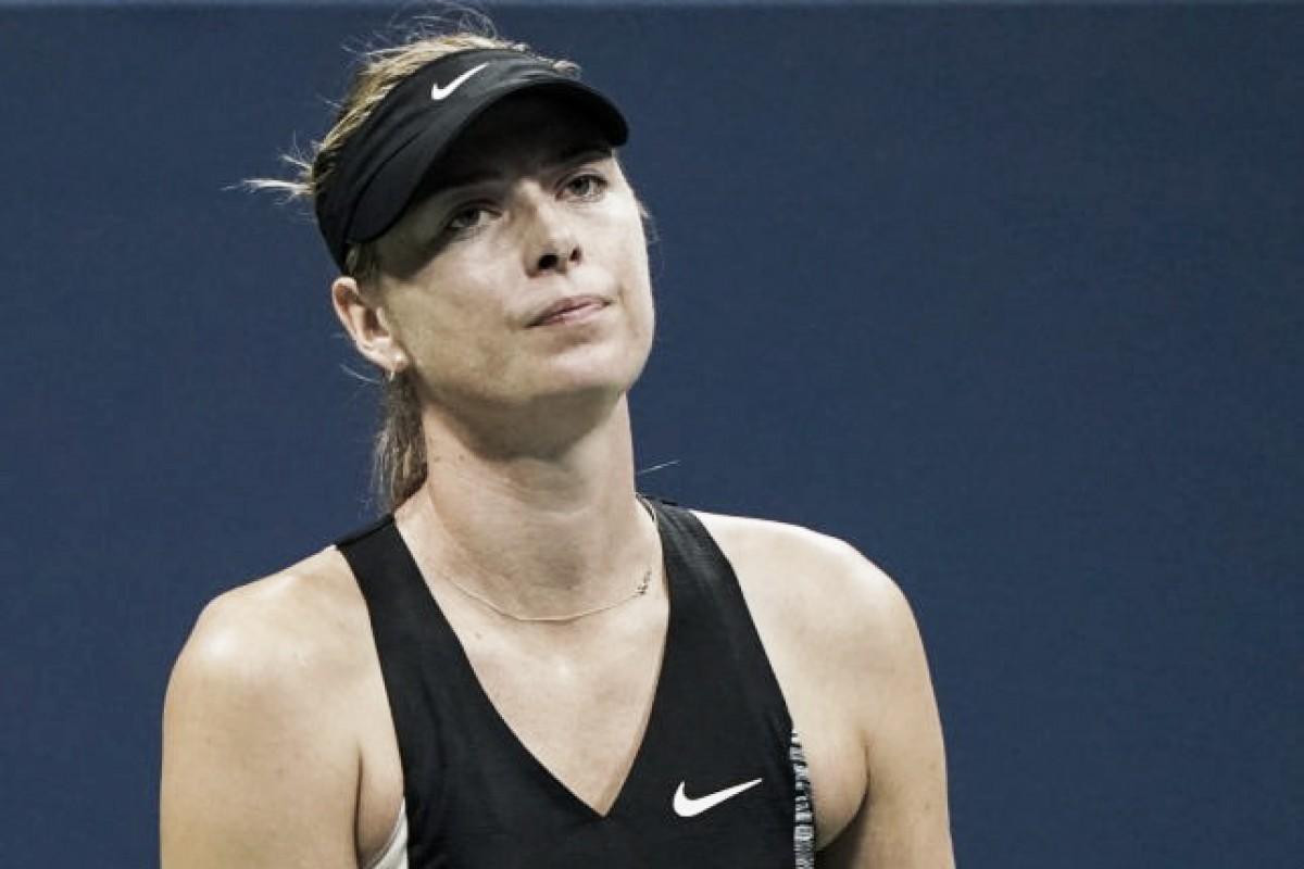 Sharapova eliminada del US Open