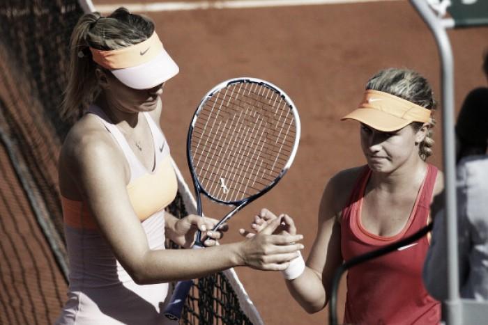 WTA Madrid second round preview: Maria Sharapova vs Eugenie Bouchard
