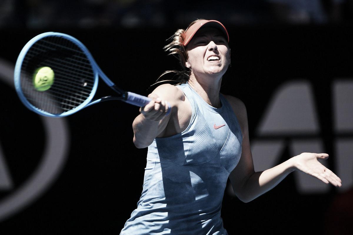 Bem no alvo: com duplo 6/0, Sharapova arrasa Dart na estreia do Australian Open
