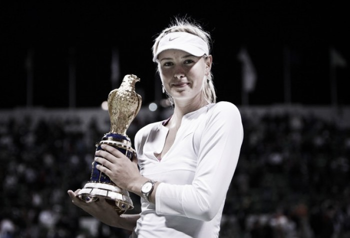 Maria Sharapova receives wildcards into Doha and Dubai