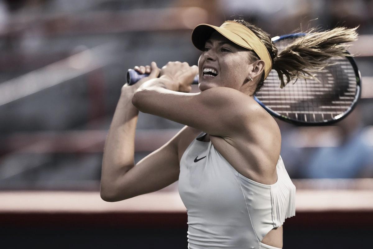 Sharapova tem estreia tranquila em Montreal diante de Karatantcheva