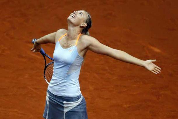 Madrid : Maria Sharapova renverse la vapeur